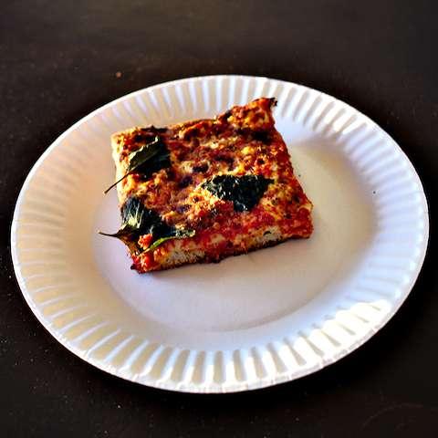 Margherita slice