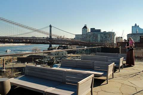 1 Hotel Brooklyn roof