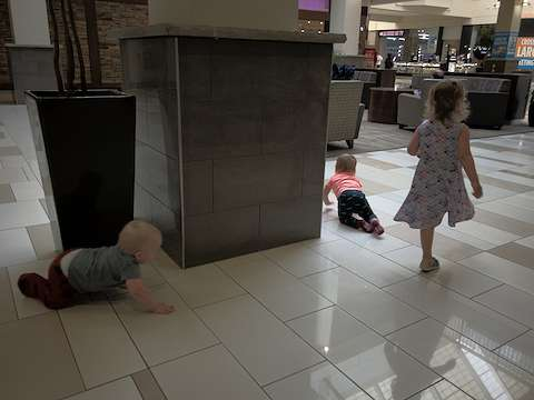 Kids in the mall