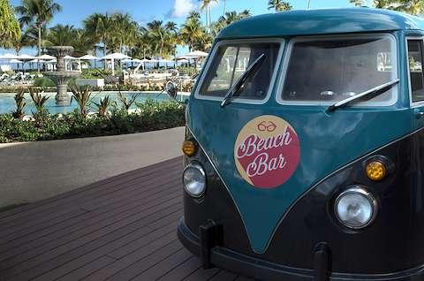 Beach bar bus