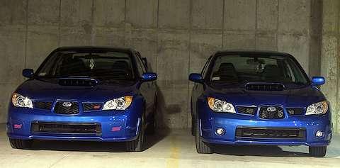 2006 STI and WRX
