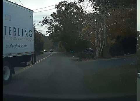 Truck passed